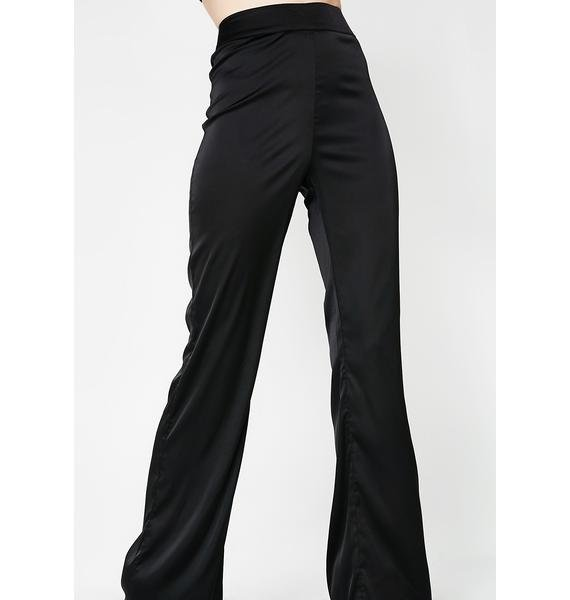Just Tonight Satin Trousers