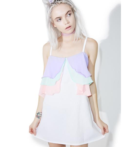 Wispy Wonders Mini Dress