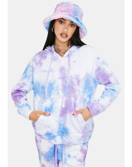 Work It Out Tie Dye Hoodie