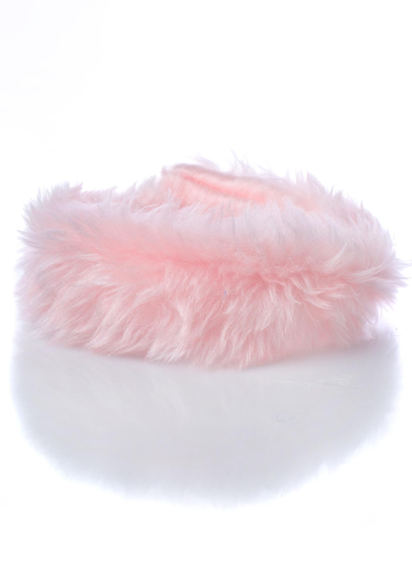 Pht Furry Sweet Luv Fuzzy Choker