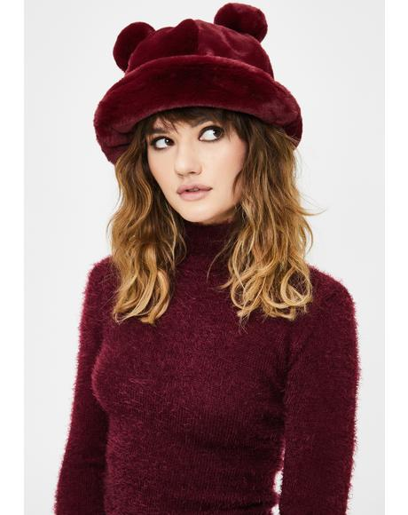 Polar Posh Fuzzy Bucket Hat