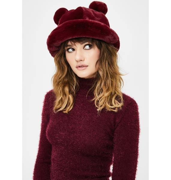 Polar Posh Fuzzy Bucket Hat