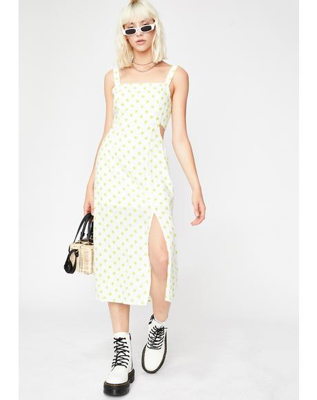 Brunch Date Polka Dot Dress