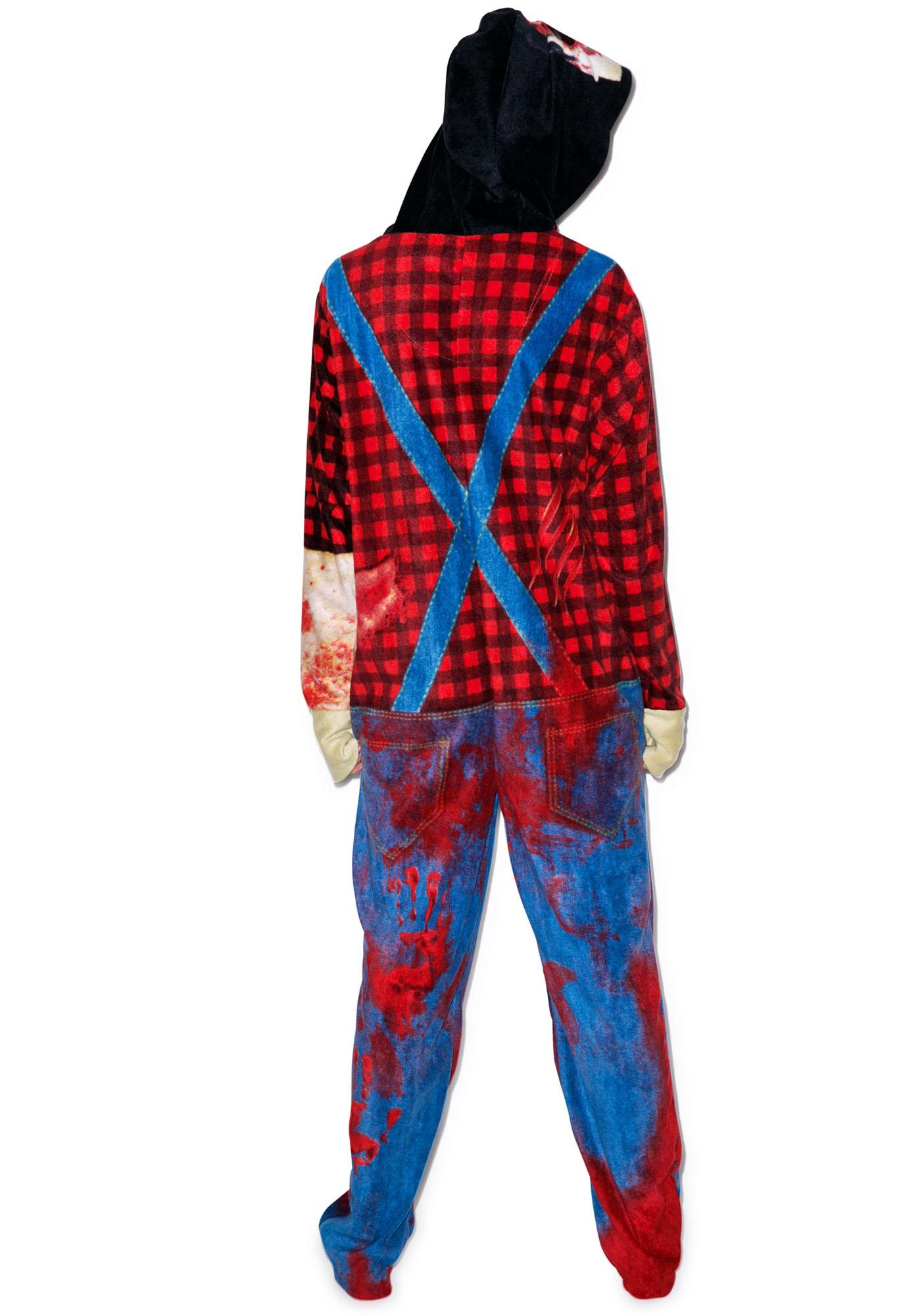 Undergirl Zombie Hooded Onesie