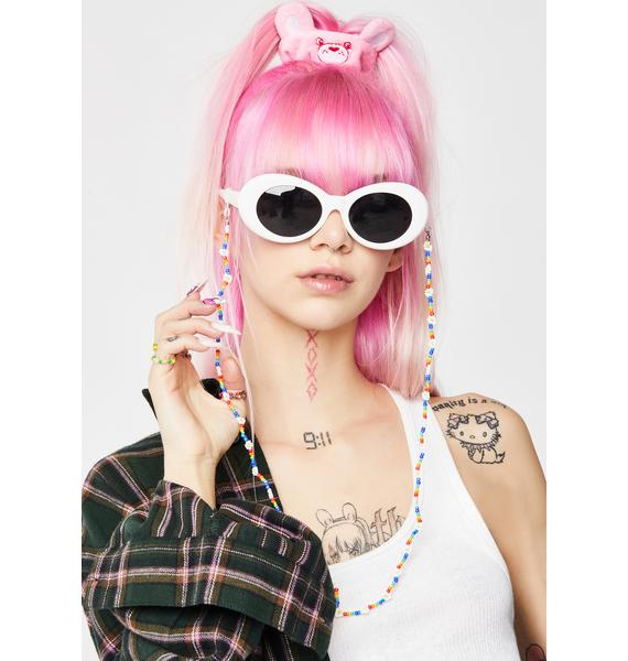 Go With The Flower Sunglasses Chain