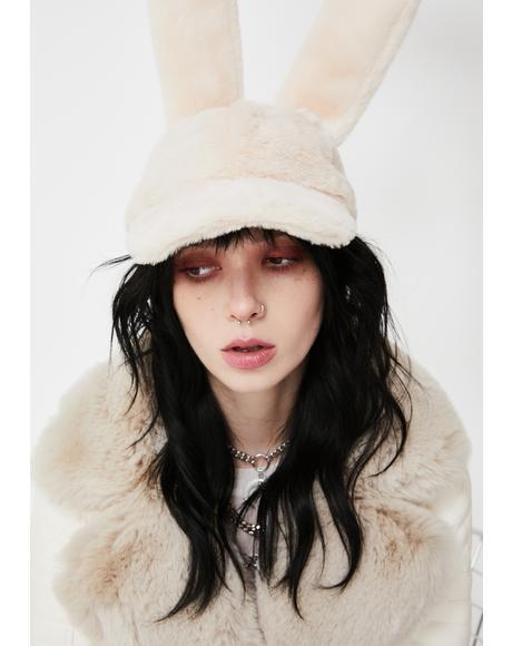 Bunny Bae Fuzzy Hat