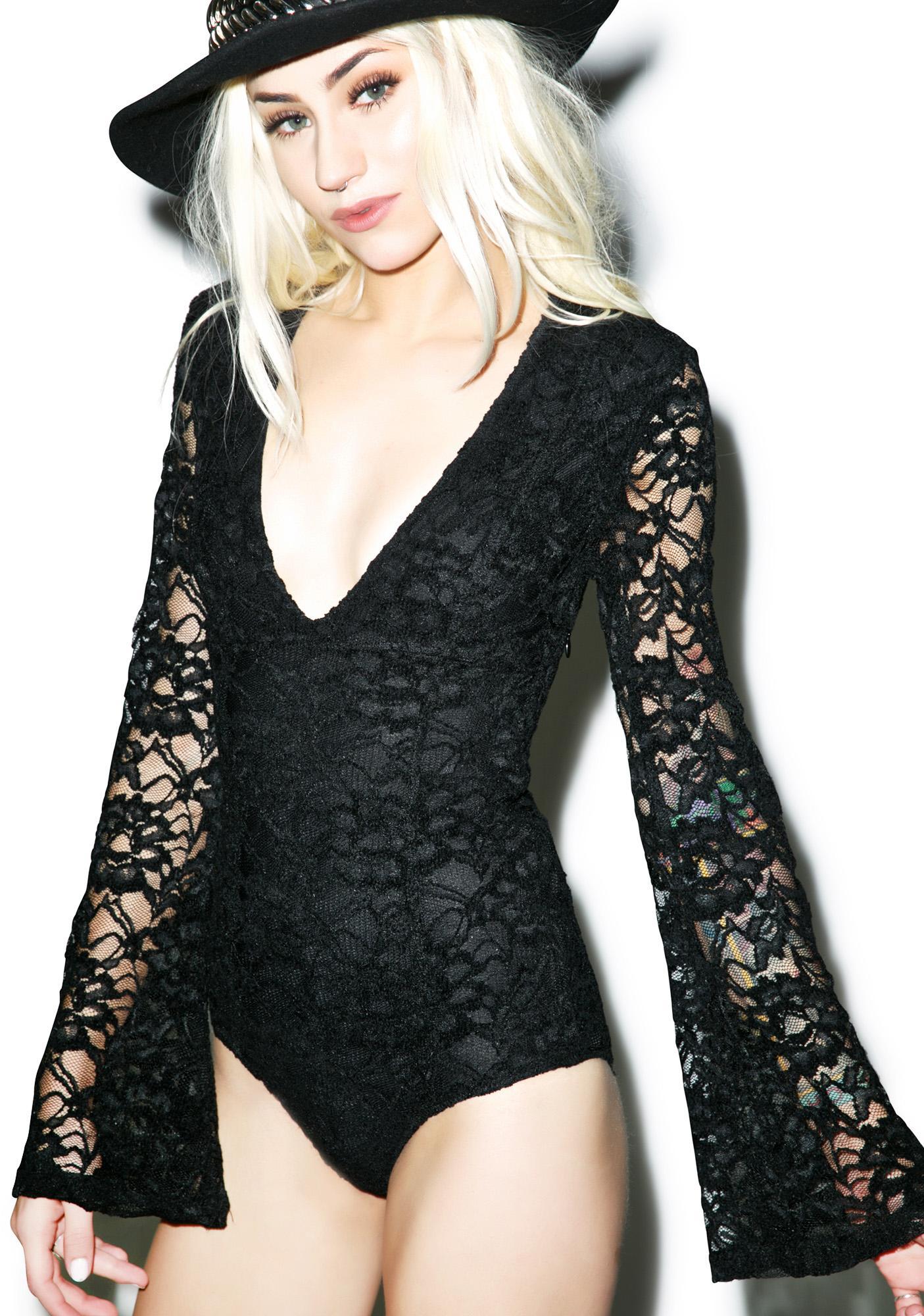 Somedays Lovin Lucis Lace Bodysuit