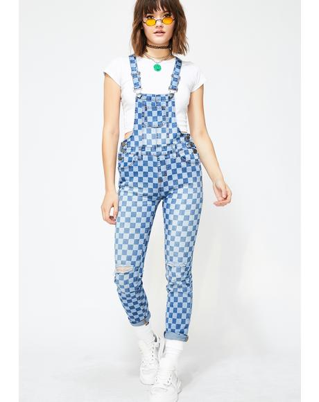 Hype Hottie Denim Overalls