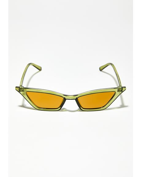 Dirty Martini Cat Eye Sunglasses