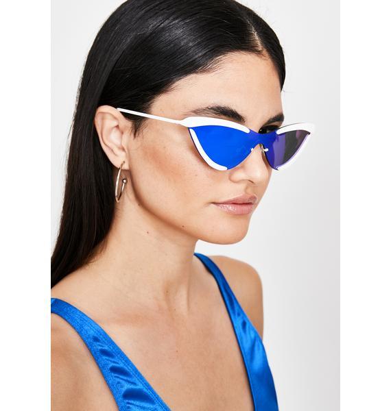 Solar Flair Cat Eye Sunglasses