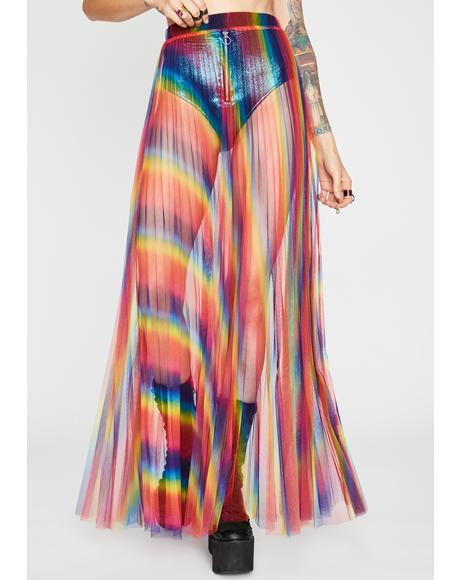 Candy Flip Maxi Skirt
