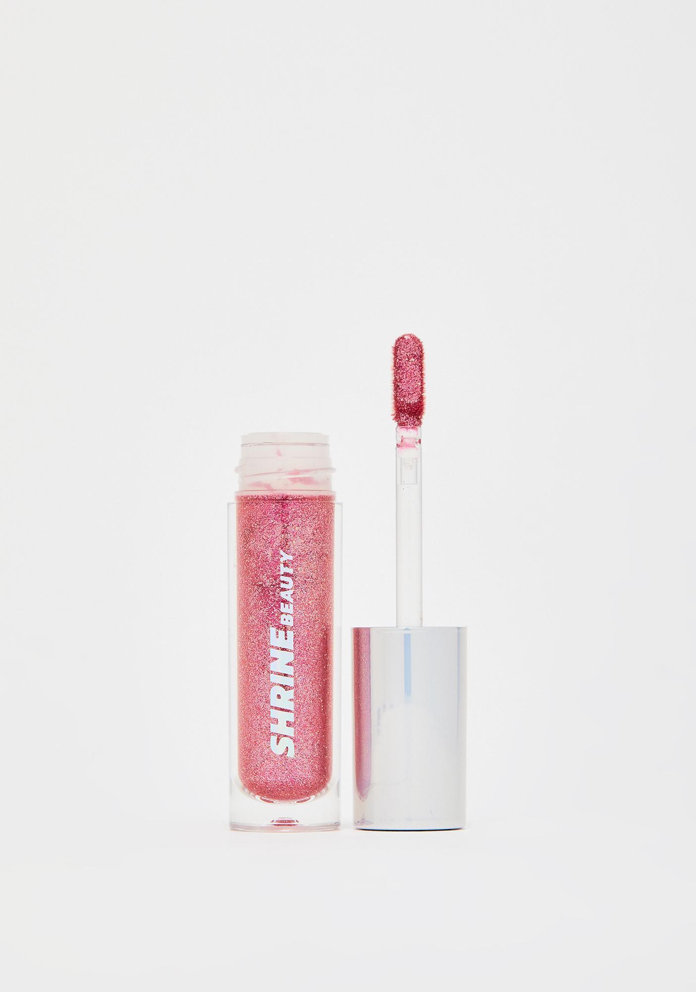 Shrine Hot Pink Glitter Lids Liquid Eyeshadow