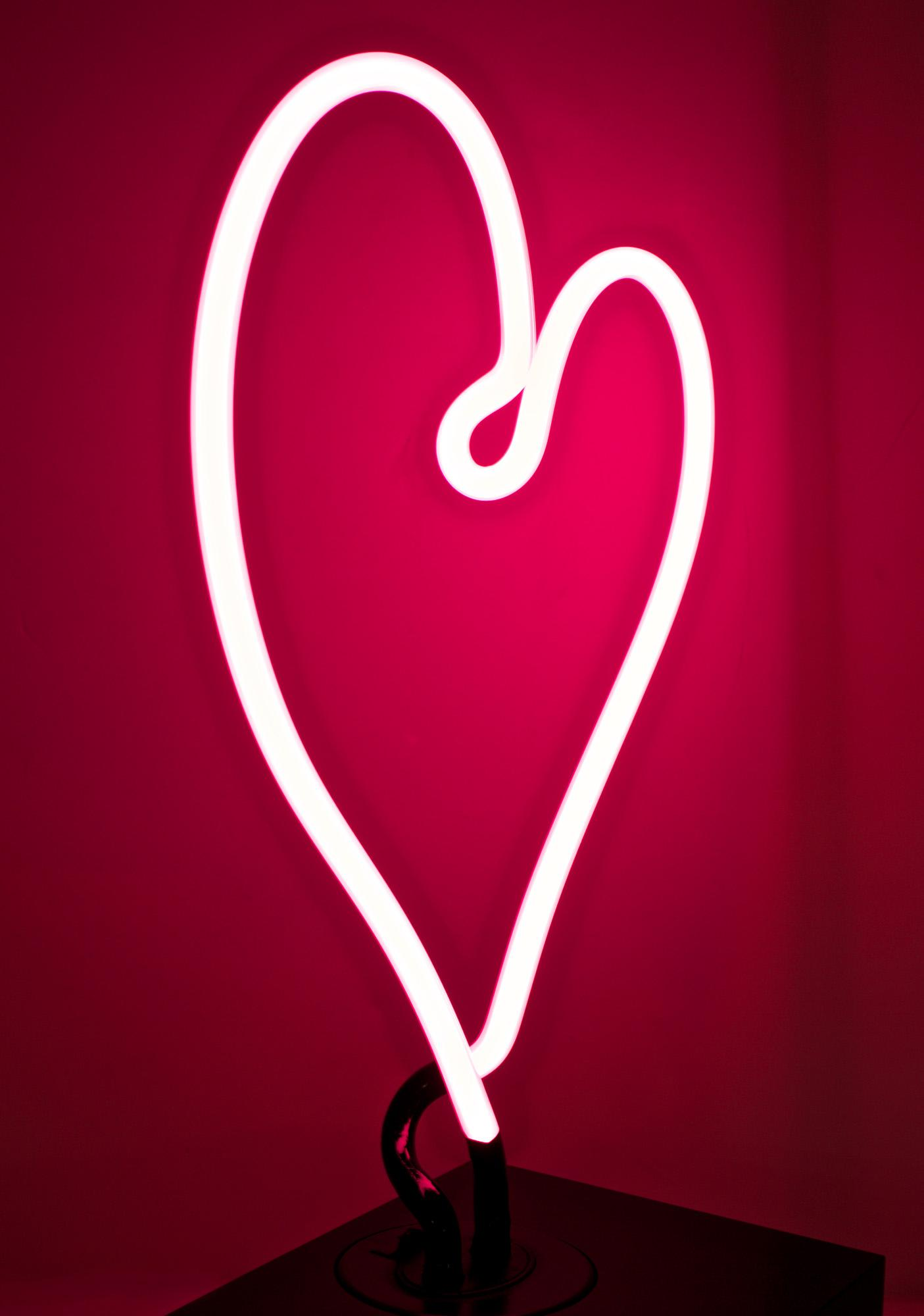 Neon MFG Heart Neon Light
