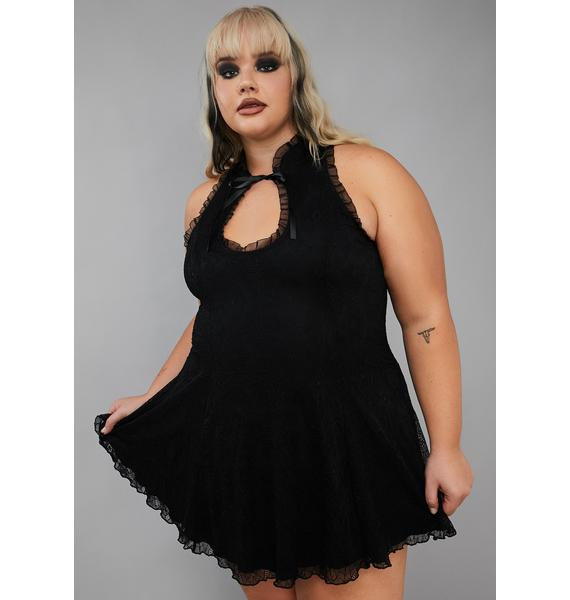 Widow My Tangled Mess Mini Dress