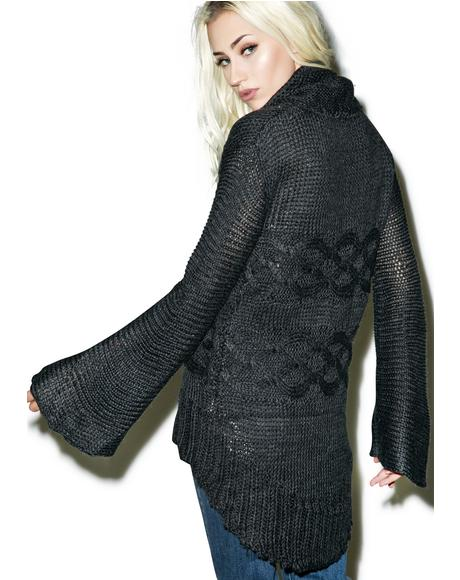Dusty High-Low Sweater