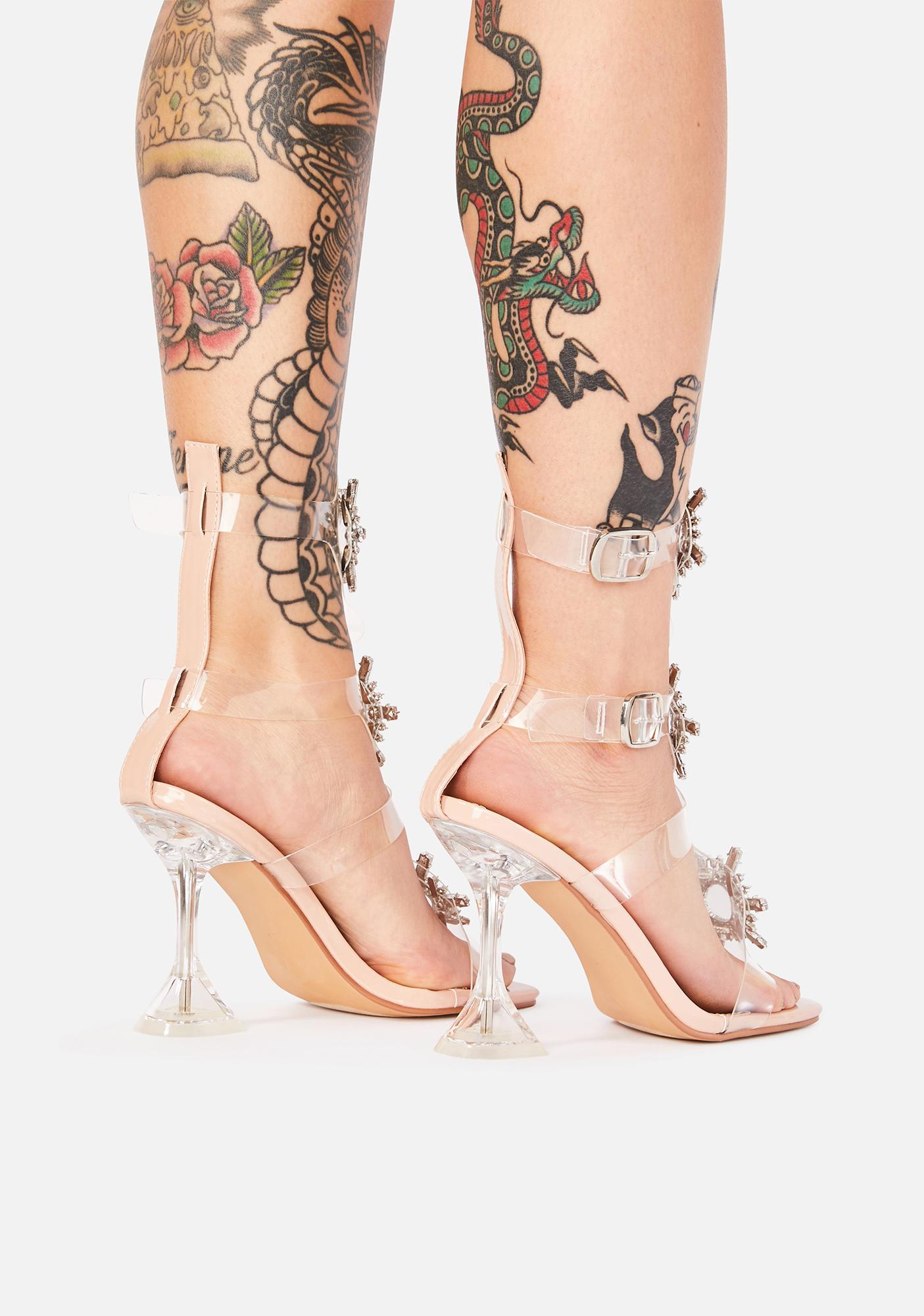 Made For Glamour Rhinestone Heels