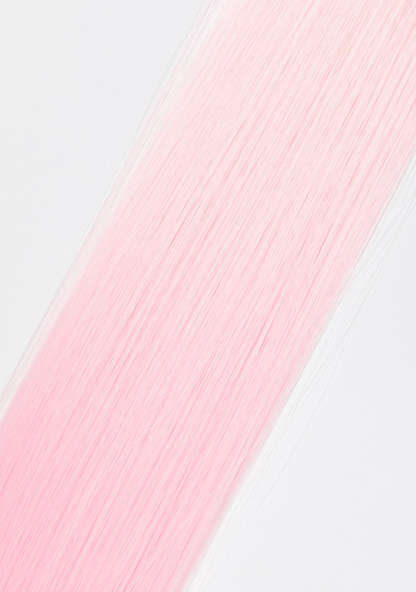 Shrine Baby Pink Hair Extensions