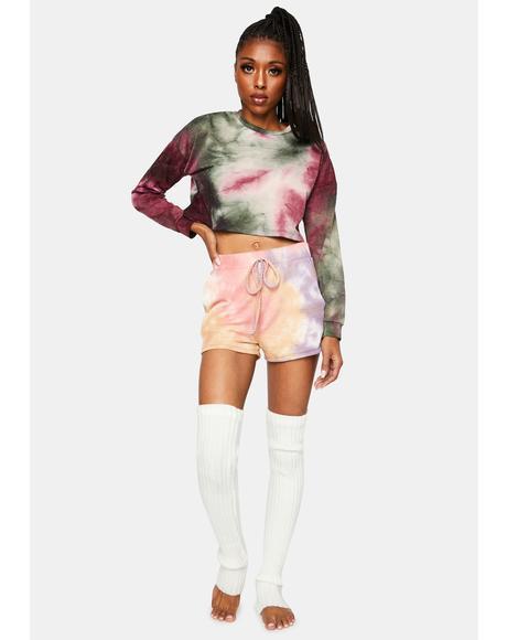 Tie Dye Lounge Shorts