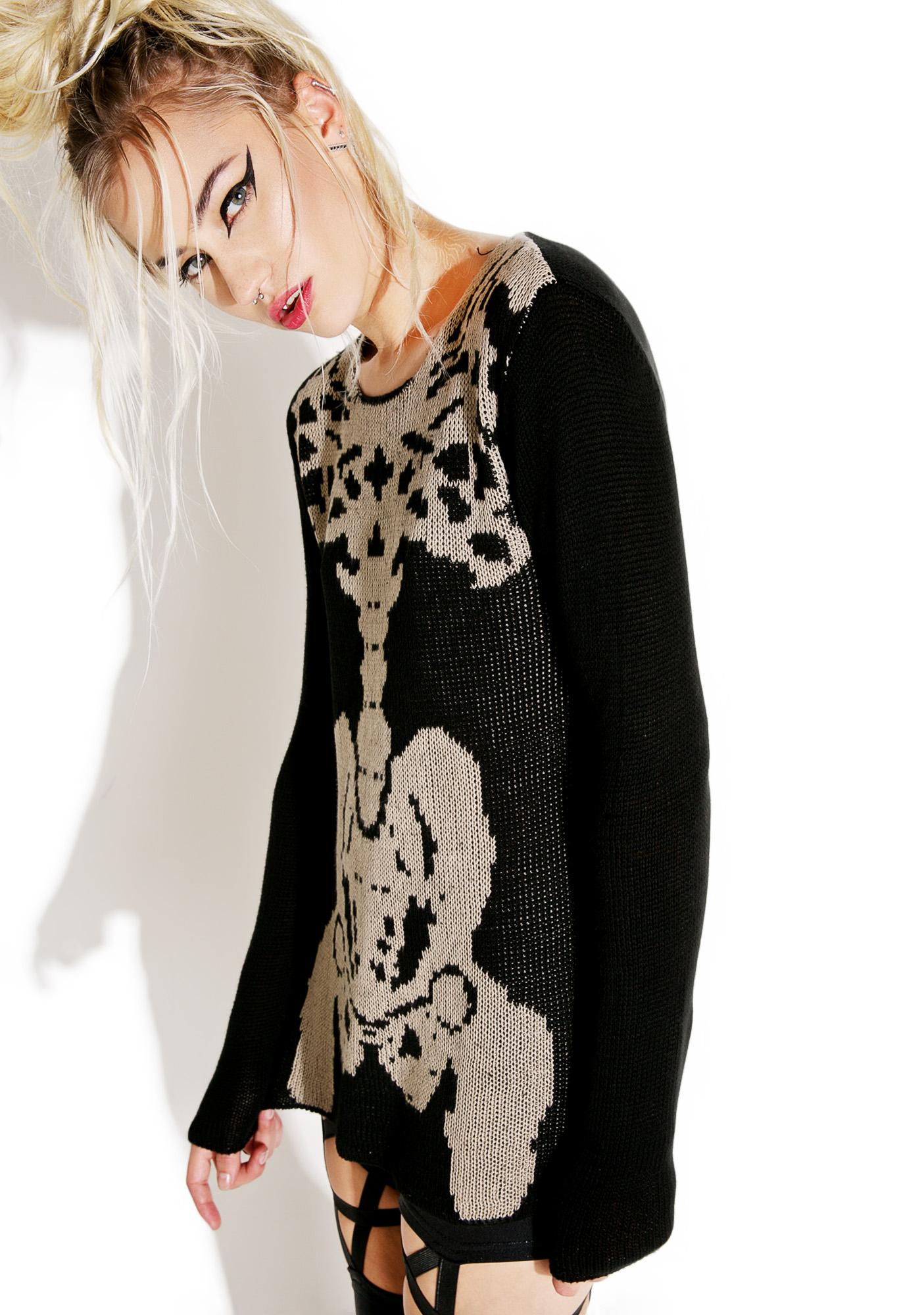 Tripp NYC Rib Cage Sweater