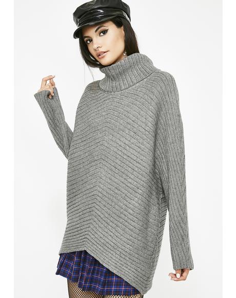 Class Cutie Oversized Sweater