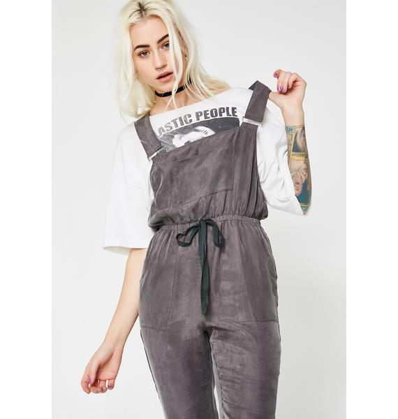 Puttin' In Work Crop Overalls