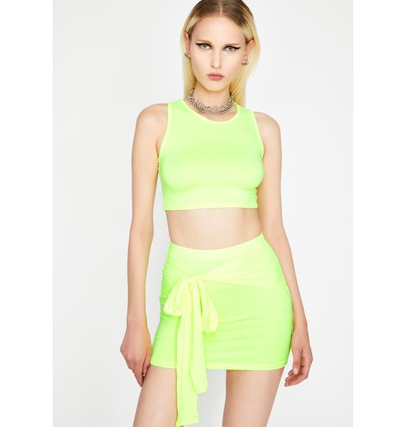 Periodt Set The Bar Skirt Set