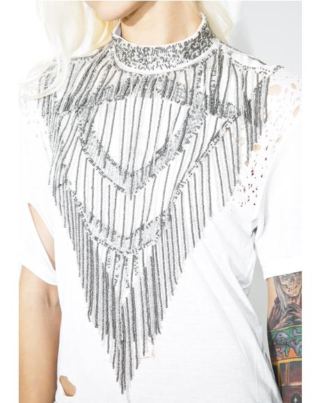 Beaded Bib Collar