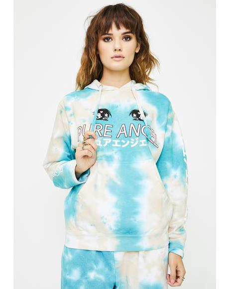 Teal Cloud Pure Angel Hoodie
