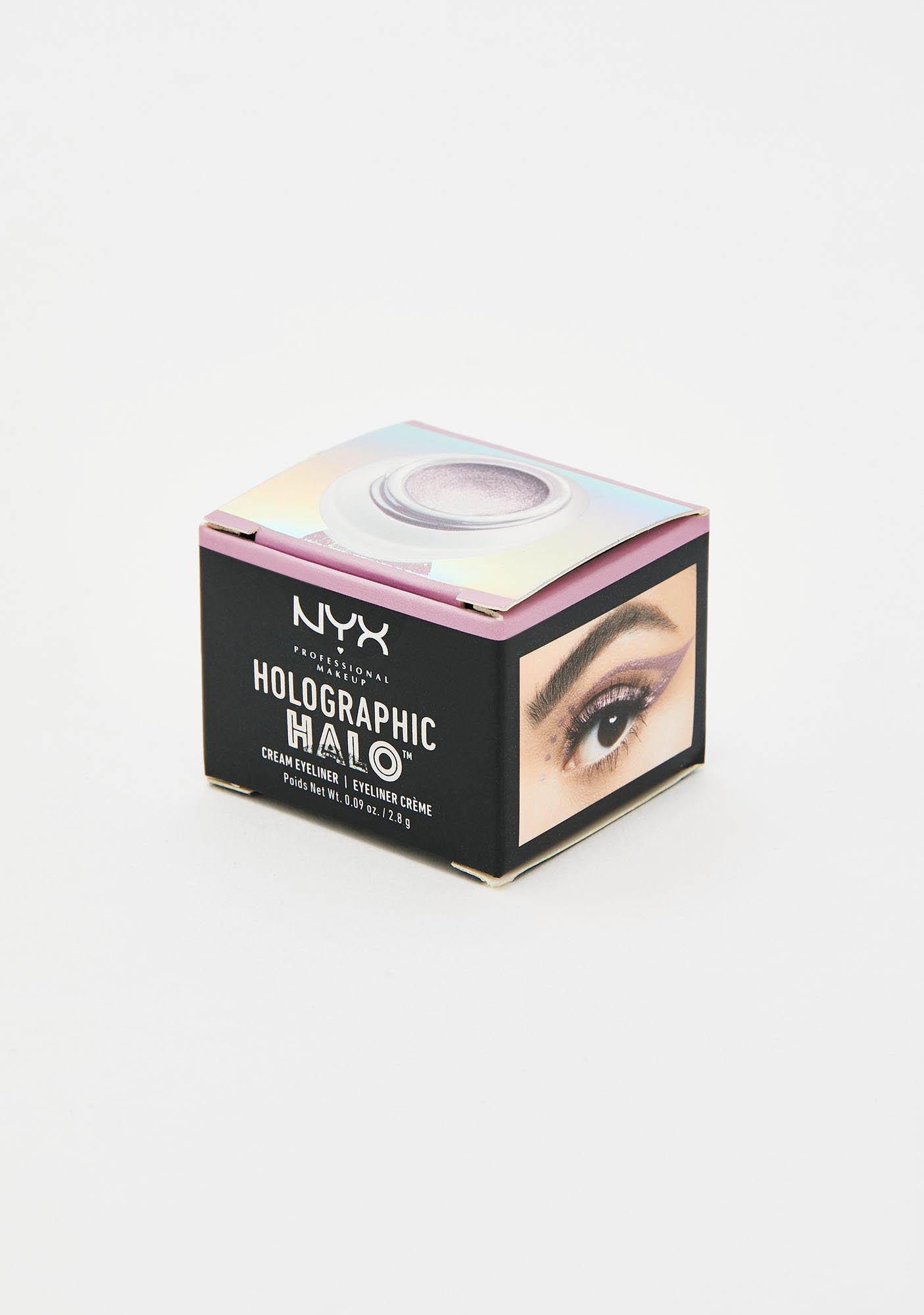 NYX Professional Makeup Cotton Candy Holographic Cream Eyeliner