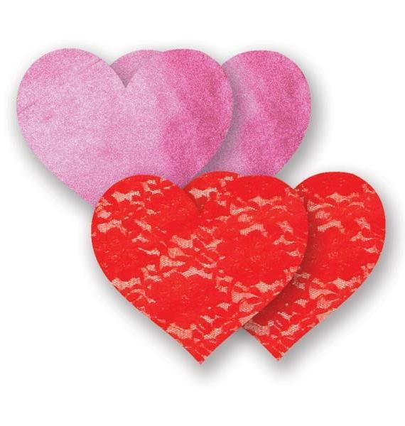 Bristols Six Lovelace Heart Nippie