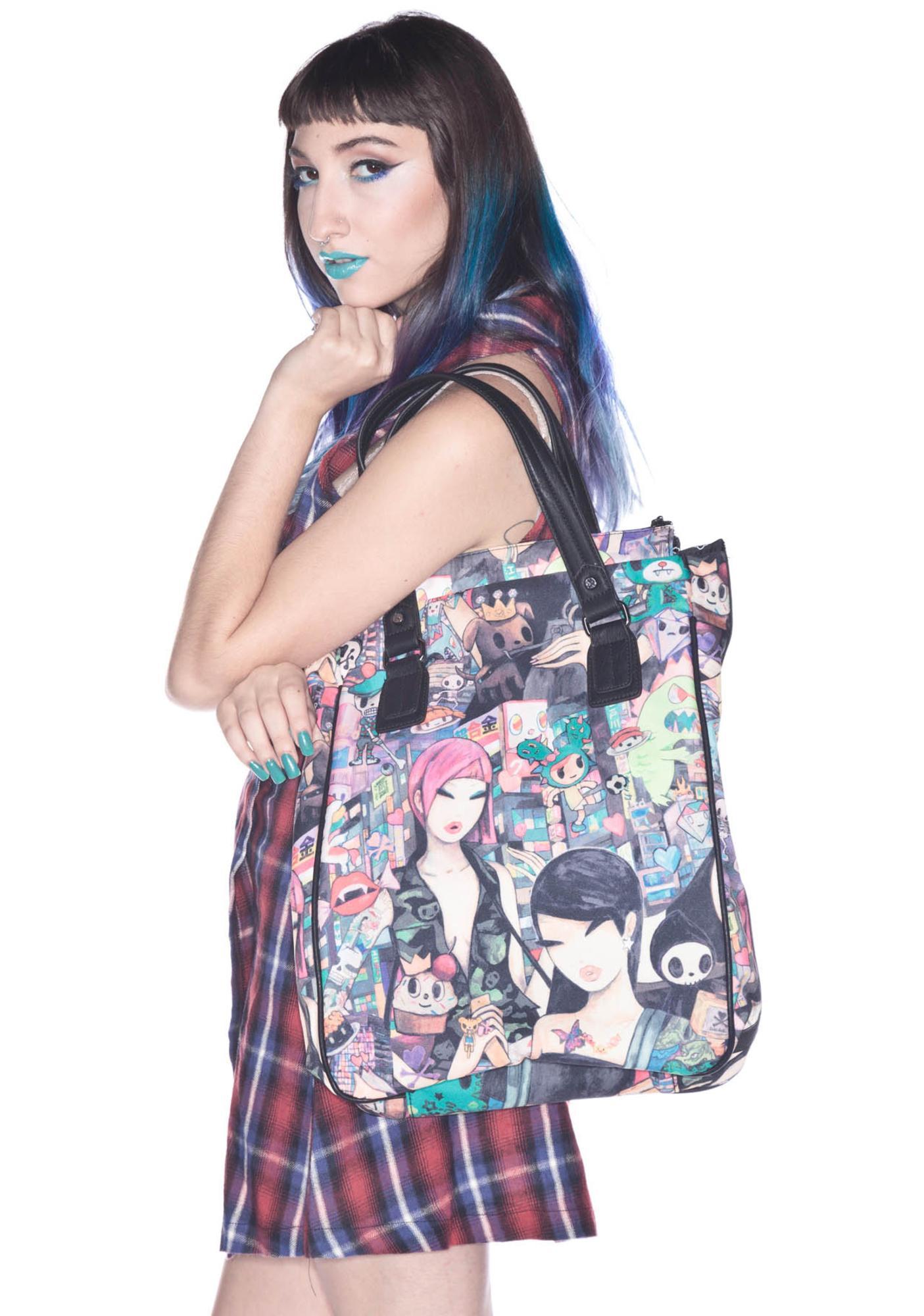 Tokidoki Portrait Shopping Bag