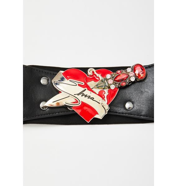 Kreepsville 666 Elvira Dagger Waist Belt
