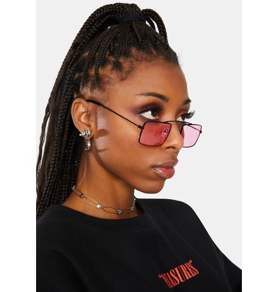 Hottie You Talking To Me Aviator Sunglasses