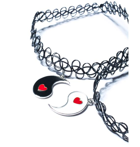 My Other Half BFF Choker Set