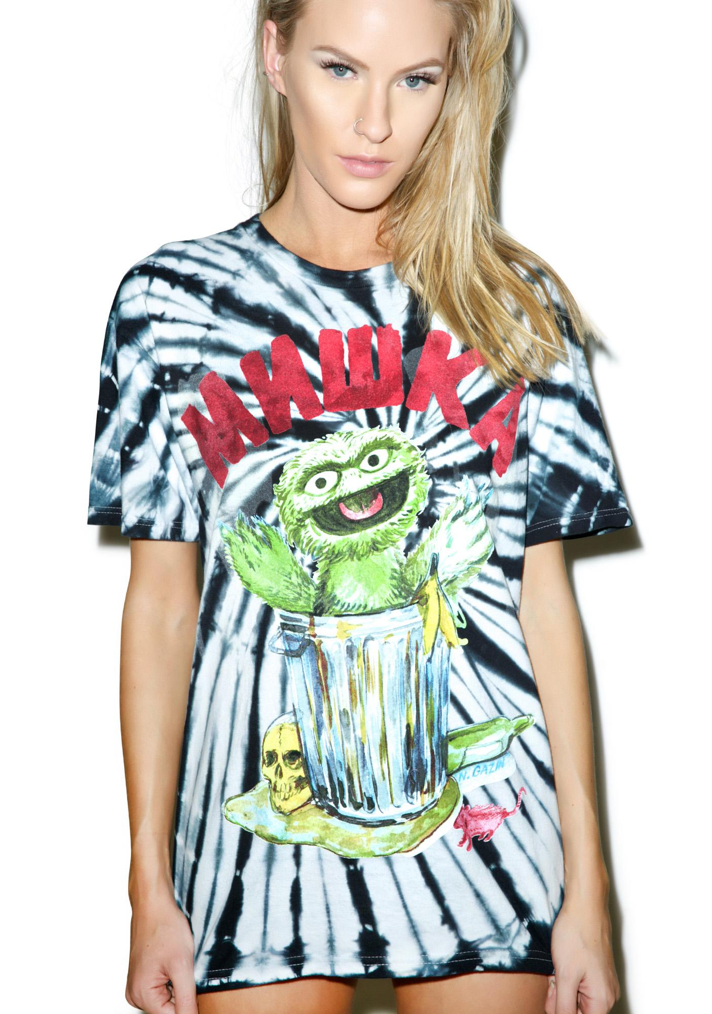 Mishka Oscar The Grouch Tee