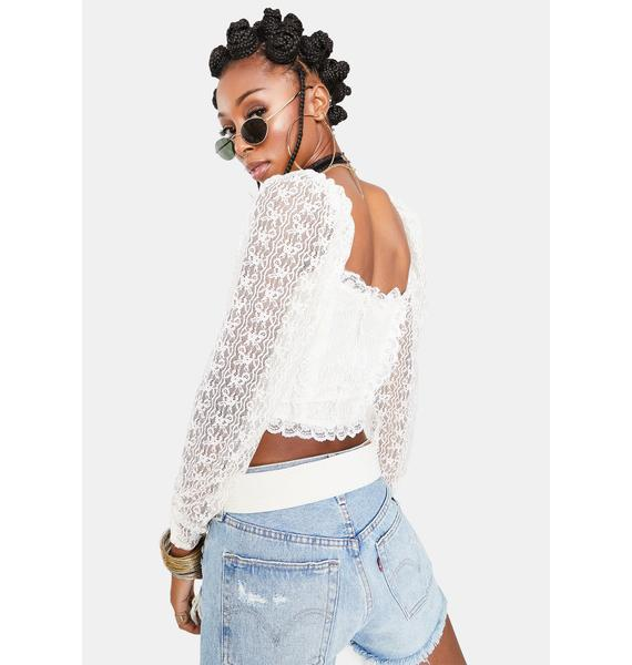For Love & Lemons Carrie Crop Top