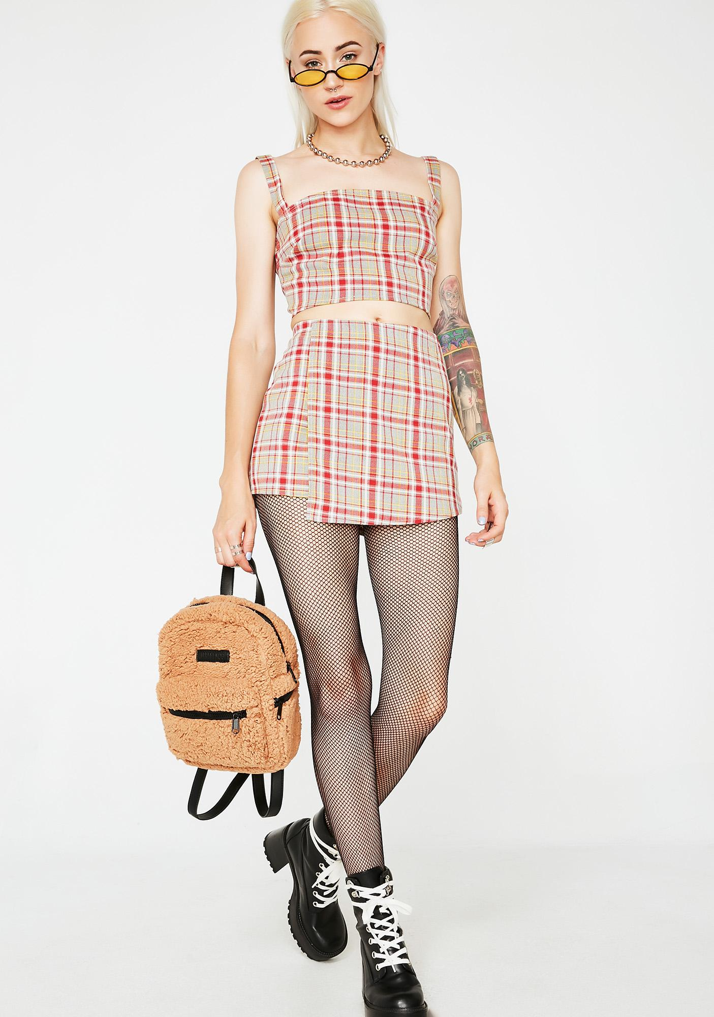 Siren Voted Most Popular Plaid Set