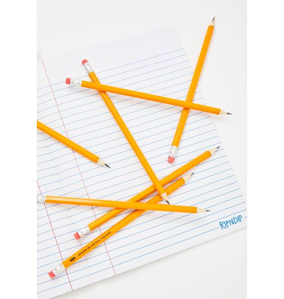 RIPNDIP Buy Me Wooden No.2 Pencils