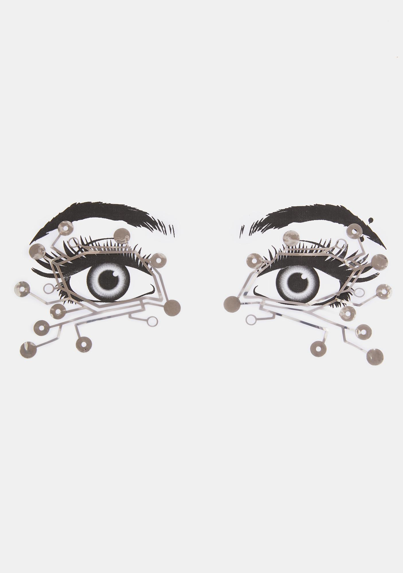 Face Lace Cyberotik Eye Lace
