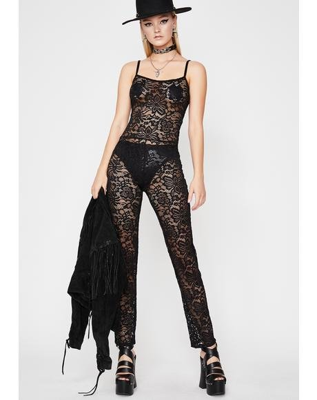 Night Vixen Lace Jumpsuit