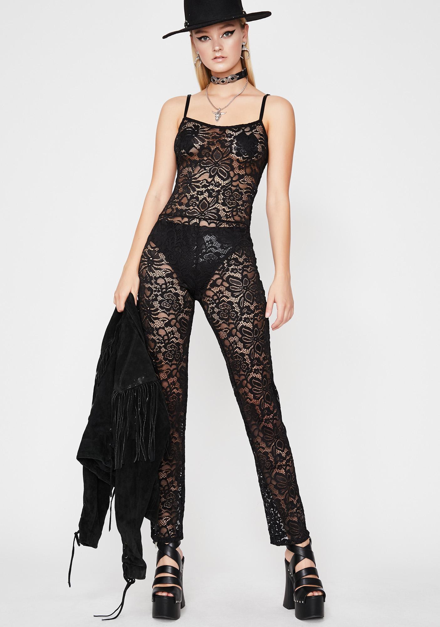 Night Vixen Lace Jumpsuit