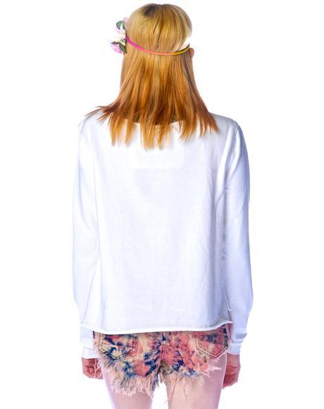 Yin Yang Sweater Top