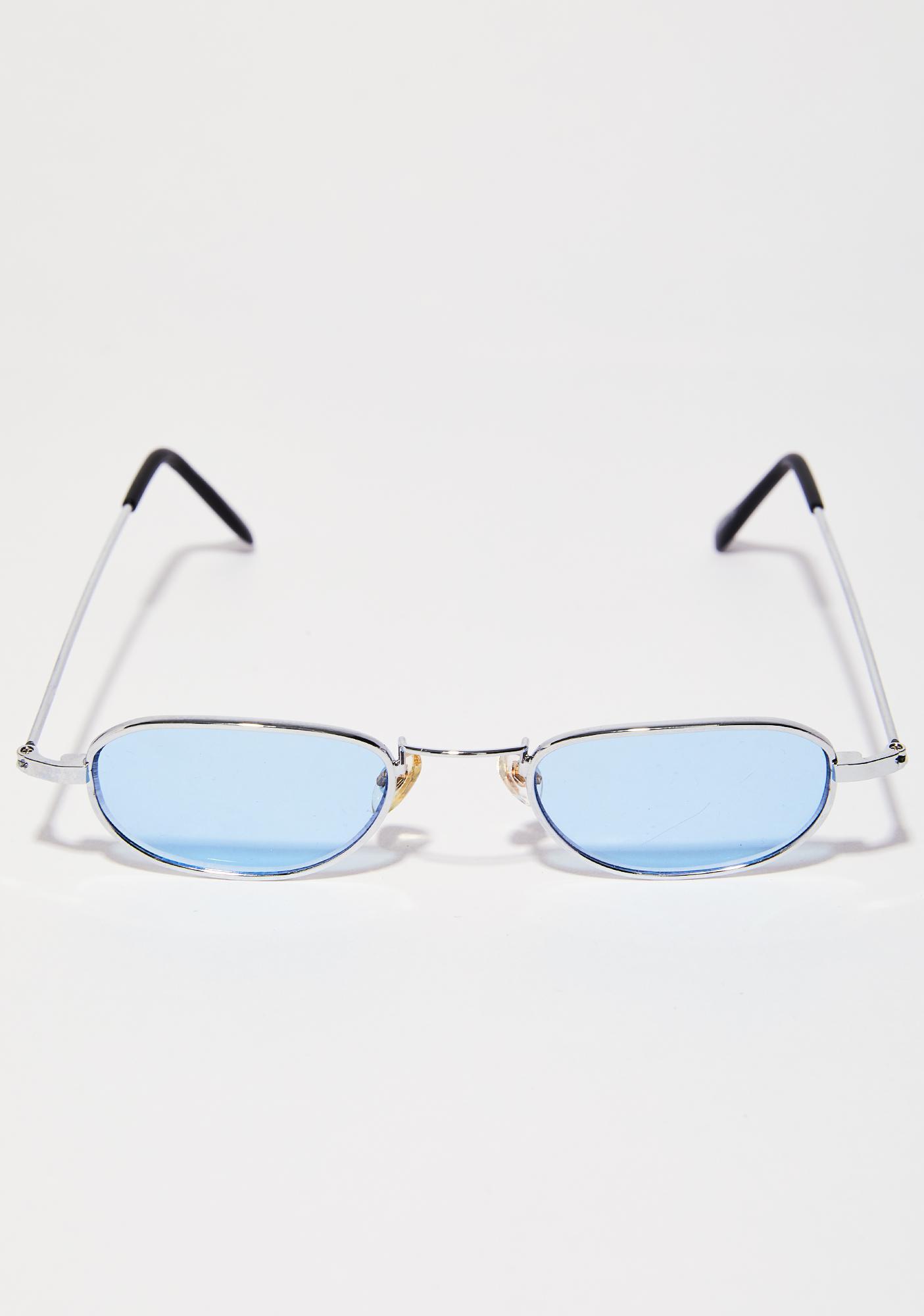 16da6e29e ... Sky Hard To Please Oval Sunglasses ...