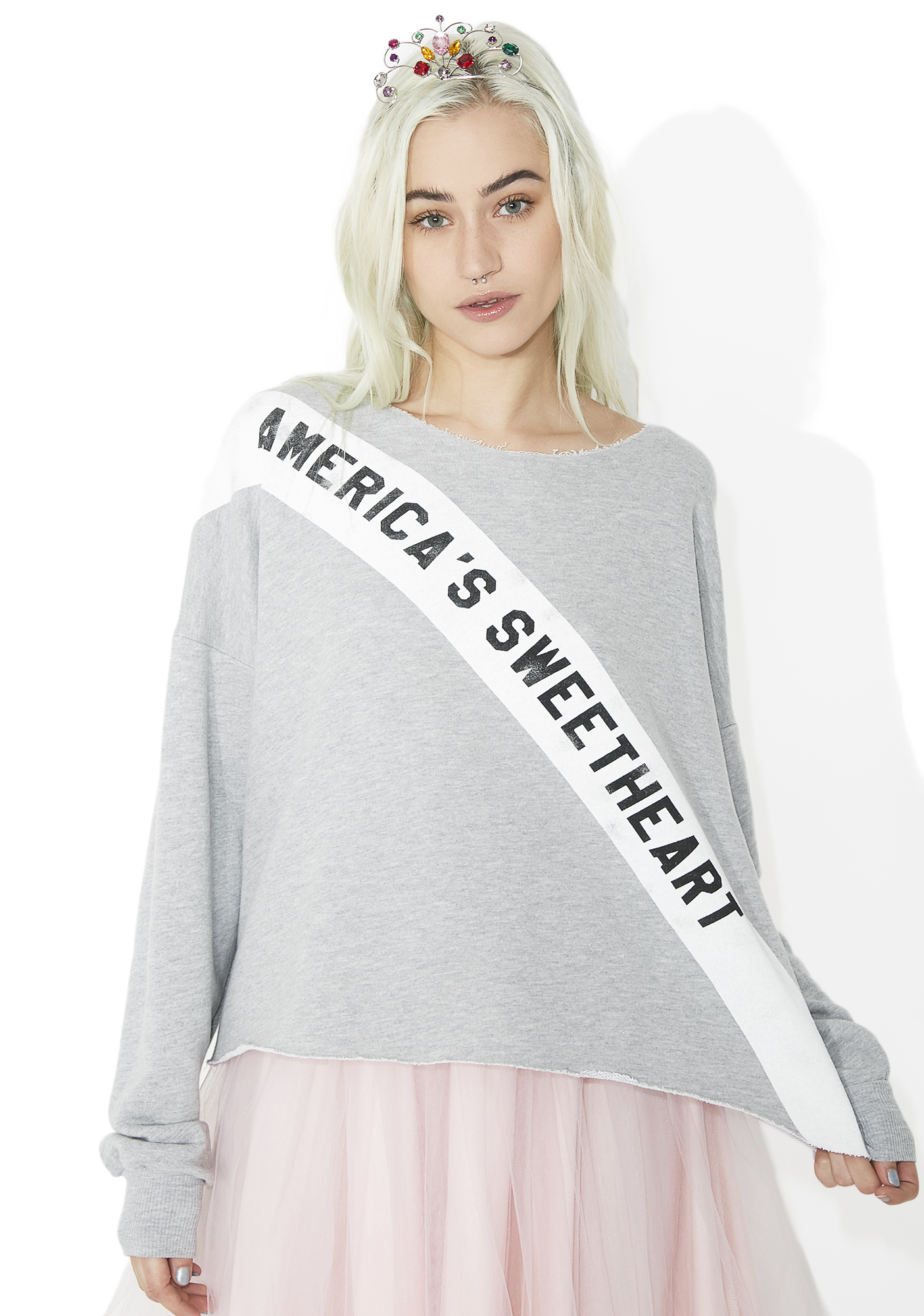 Wildfox Couture America's Sweetheart 5AM Sweatshirt