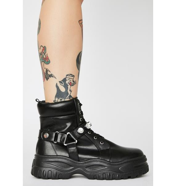 Dying In Designer Rhinestone Boots