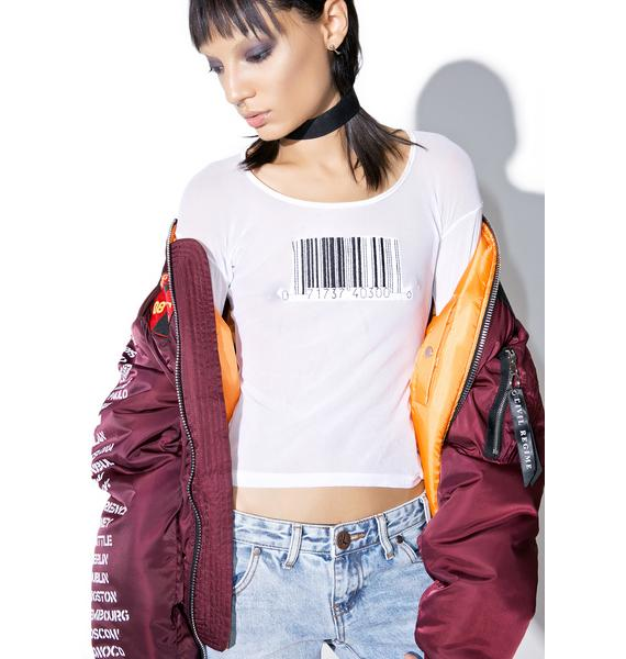 American Deadstock Scan This Mesh Top