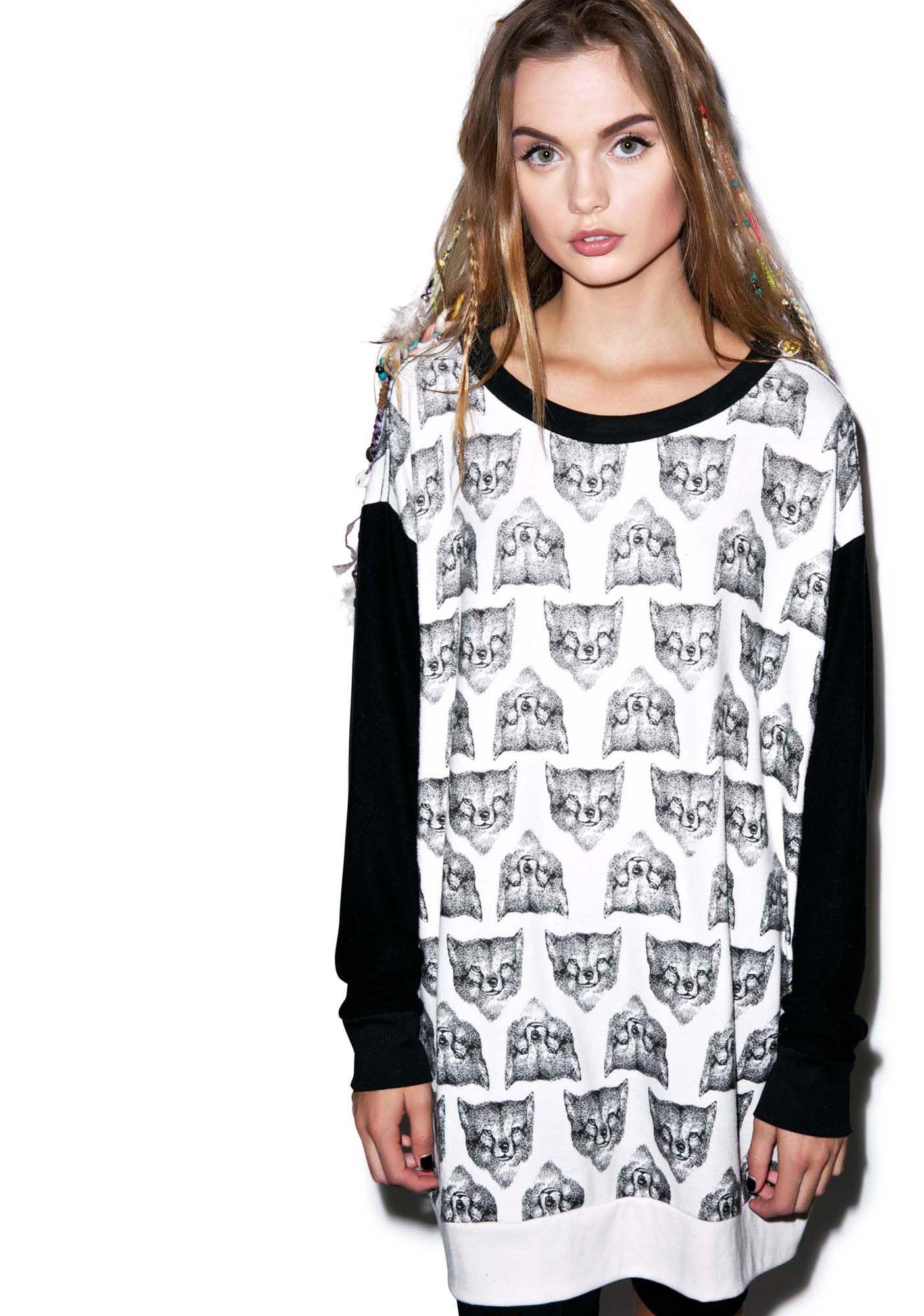 Wildfox Couture Fox Hunt Roadtrip Sweater