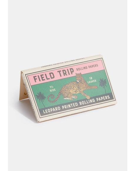 Leopard Printed Rolling Papers