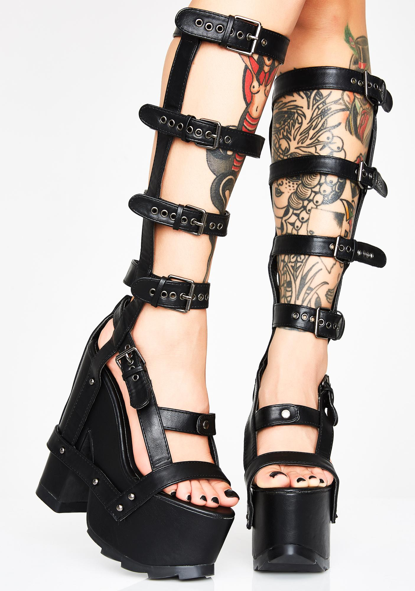 Y.R.U. Nightcall Hi Platform Heels