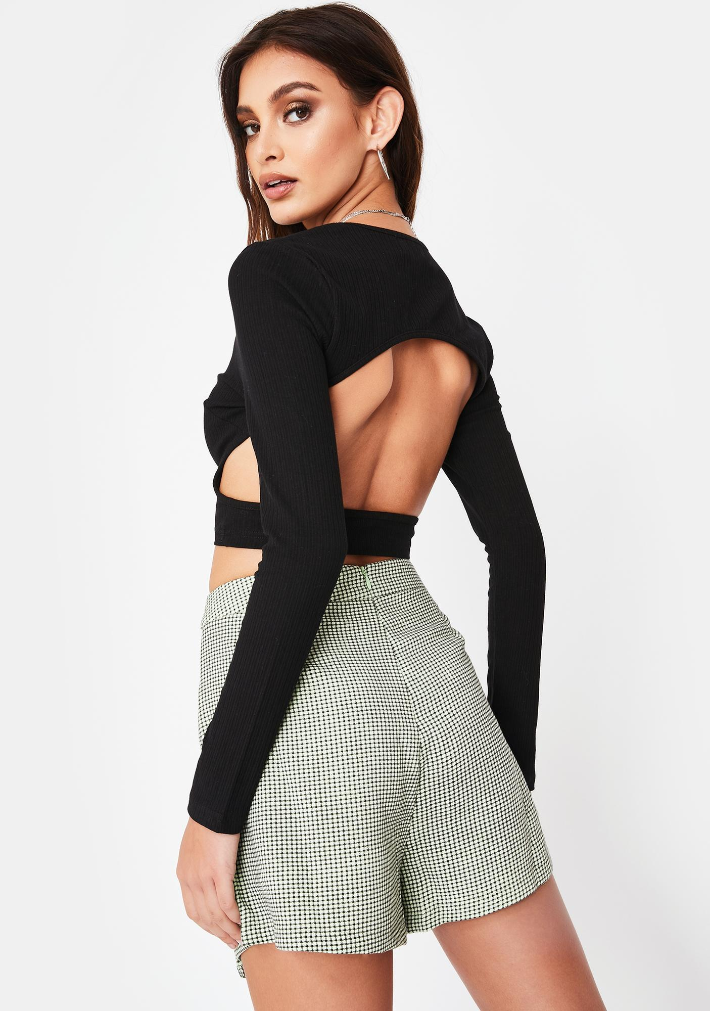 Twiin Endless Cut Out Top